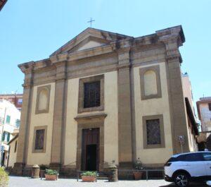 Parrocchia di Santa Maria in Vivario - fronte
