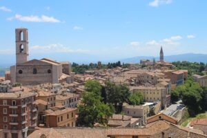 Perugia dai Giardini Carducci - 2