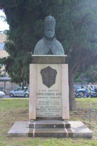 Statua per Papa Gregorio XVI°