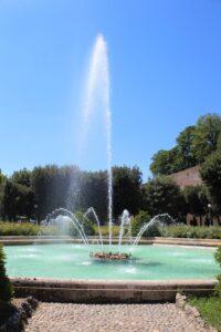 Fontana nei Giardini Pubblici