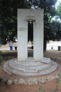 Memoriale ai Caduti per Servizio Istituzionale