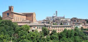 Panorama di Siena da Viale XXV aprile - 1