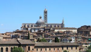Panorama di Siena da Viale XXV aprile - 2