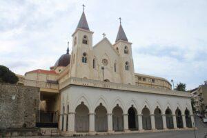 Santuario di Sant'Antonio - vista dal piano strada