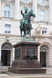 Statua Equestre a Josef Radetzky