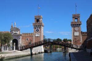 Arsenale di Venezia - panoramica