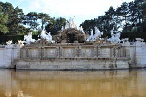 Fontana del Nettuno - dettaglio