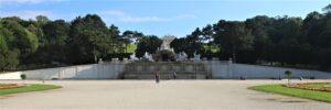 Fontana del Nettuno - panoramica