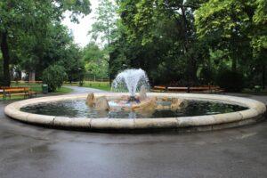 Fontana del Rathauspark