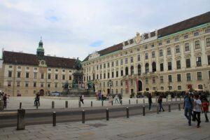 Hofburg - Piazzale Interno