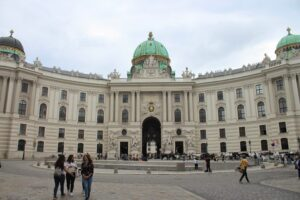 Hofburg - panoramica
