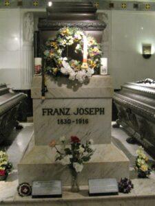 Kaisergruft - la Tomba di Francesco Giuseppe I° d'Austria