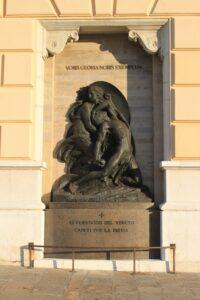 Memoriale per i Ferrovieri Veneti Caduti per la Patria
