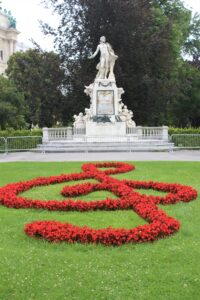 Monumento per Mozart - Panoramica