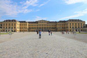 Schonbrunn - facciata
