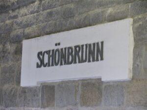 Schonbrunn - la fermata della metro