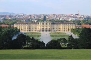 Schonbrunn - vista dalla Gloriette