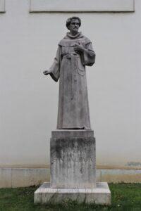 Statua di Abraham a Santa Clara