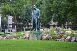 Statua di Francesco Giuseppe I° d'Austria