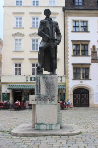 Statua per Gotthold Ephraim Lessing