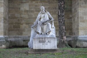 Statua per Rudolf von Alt