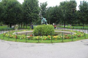 Volksgarten - Fontana 1