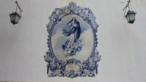 Azulejo sulla Chiesa Nossa Senhora do Carmo