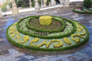 Bom Jesu do Monte - composizione floreale
