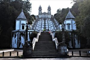 Bom Jesus do Monte - l'ultima scalinata - panoramica