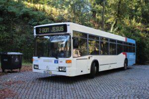 Bus n. 2 per il Bom Jesus do Monte
