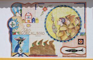 Capela de Sao Gonçalinho - azulejo