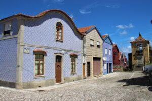 Casette colorate ad Aveiro