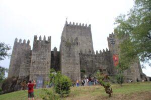 Castello di Guimaraes - fronte
