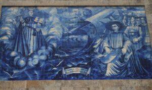 Chiesa Paroquial de Massarelos - Azulejo sul retro