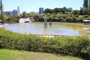Fontana-Laghetto del Parque Amalia Rodrigues