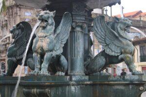 Fontana dei Leoni - dettaglio