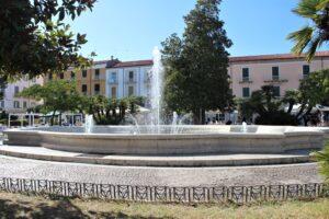 Fontana di Piazza Vittorio Emanuele II° - 1