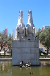 Giardino di Praça do Imperio - dettaglio