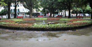 Jardim Marques de Oliveira - Fontana Centrale