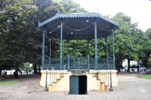 Jardim Marques de Oliveira - Gazebo in metallo
