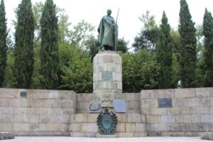 Monumento a Dom Alfonso Henriques - dettaglio
