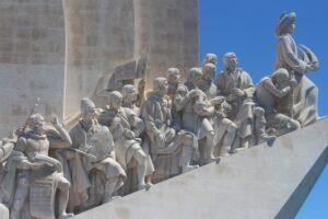 Monumento alle Scoperte - dettaglio