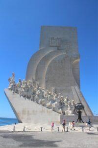 Monumento alle Scoperte - lato sinistro