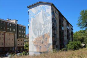 Murales di Via Liguria com'è oggi