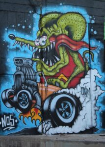 Murales di Via dei Novelli - 1