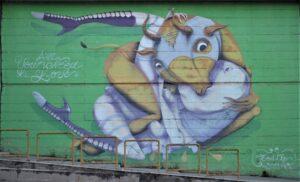 Murales di Via dei Novelli - 2