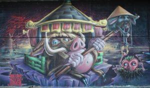 Murales di Via dei Novelli - 6