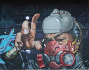 Murales di Via dei Novelli - 7