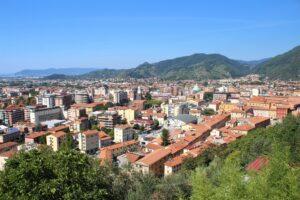 Panoramica di Massa dal Castello Malaspina