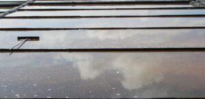Saline di Aveiro - riflesso delle nuvole